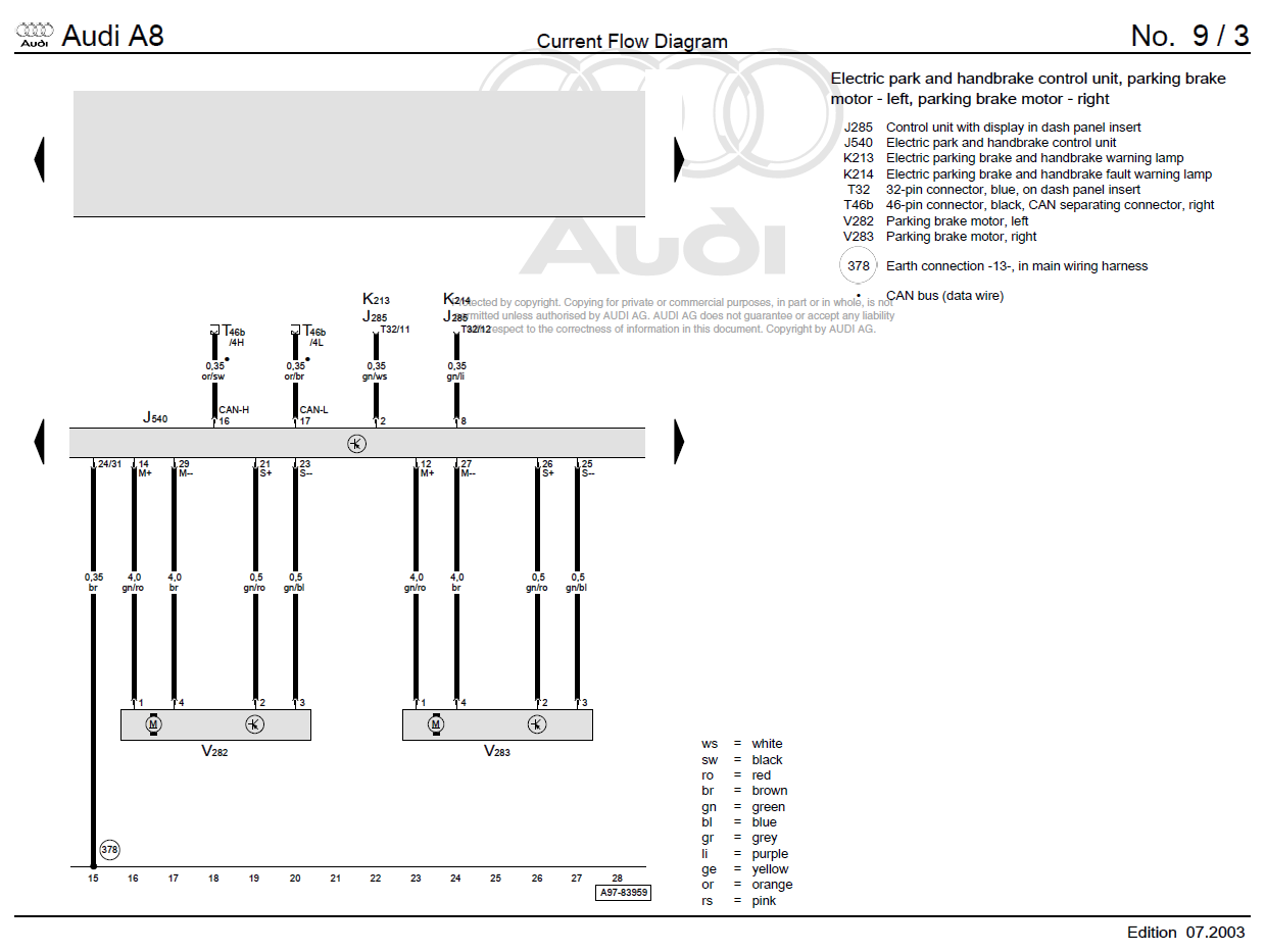 Electronic Parking Brake Malfunction!!! Workshop! - Page 2 - A8